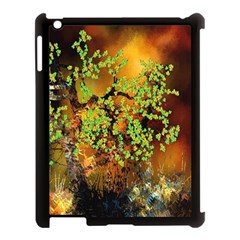 Backdrop Background Tree Abstract Apple iPad 3/4 Case (Black)
