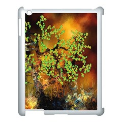 Backdrop Background Tree Abstract Apple iPad 3/4 Case (White)
