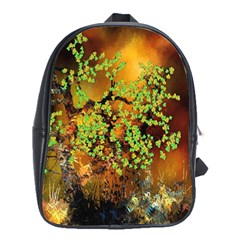 Backdrop Background Tree Abstract School Bags (XL)