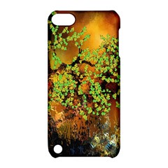 Backdrop Background Tree Abstract Apple iPod Touch 5 Hardshell Case with Stand
