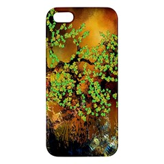 Backdrop Background Tree Abstract Apple Iphone 5 Premium Hardshell Case