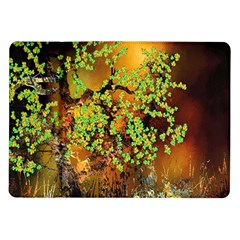 Backdrop Background Tree Abstract Samsung Galaxy Tab 10.1  P7500 Flip Case