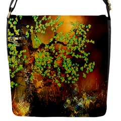 Backdrop Background Tree Abstract Flap Messenger Bag (S)