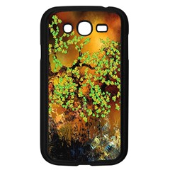Backdrop Background Tree Abstract Samsung Galaxy Grand DUOS I9082 Case (Black)