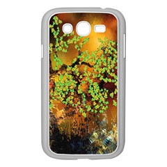 Backdrop Background Tree Abstract Samsung Galaxy Grand DUOS I9082 Case (White)