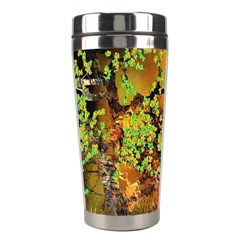 Backdrop Background Tree Abstract Stainless Steel Travel Tumblers