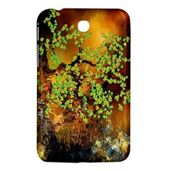 Backdrop Background Tree Abstract Samsung Galaxy Tab 3 (7 ) P3200 Hardshell Case