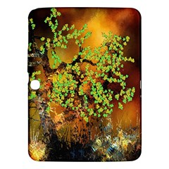 Backdrop Background Tree Abstract Samsung Galaxy Tab 3 (10.1 ) P5200 Hardshell Case
