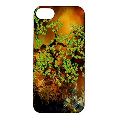 Backdrop Background Tree Abstract Apple iPhone 5S/ SE Hardshell Case