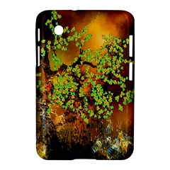 Backdrop Background Tree Abstract Samsung Galaxy Tab 2 (7 ) P3100 Hardshell Case