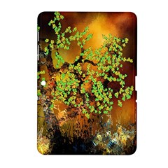 Backdrop Background Tree Abstract Samsung Galaxy Tab 2 (10.1 ) P5100 Hardshell Case