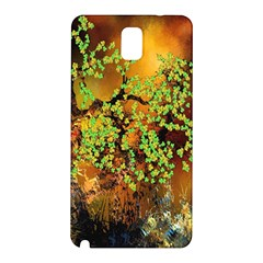 Backdrop Background Tree Abstract Samsung Galaxy Note 3 N9005 Hardshell Back Case