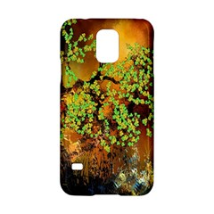 Backdrop Background Tree Abstract Samsung Galaxy S5 Hardshell Case