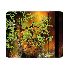 Backdrop Background Tree Abstract Samsung Galaxy Tab Pro 8.4  Flip Case