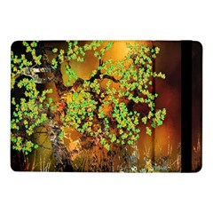 Backdrop Background Tree Abstract Samsung Galaxy Tab Pro 10.1  Flip Case