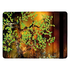 Backdrop Background Tree Abstract Samsung Galaxy Tab Pro 12.2  Flip Case