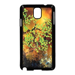 Backdrop Background Tree Abstract Samsung Galaxy Note 3 Neo Hardshell Case (Black)
