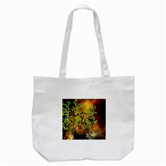 Backdrop Background Tree Abstract Tote Bag (White)