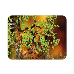 Backdrop Background Tree Abstract Double Sided Flano Blanket (Mini)