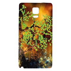 Backdrop Background Tree Abstract Galaxy Note 4 Back Case