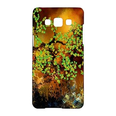 Backdrop Background Tree Abstract Samsung Galaxy A5 Hardshell Case
