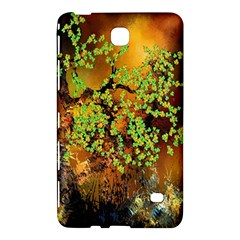 Backdrop Background Tree Abstract Samsung Galaxy Tab 4 (7 ) Hardshell Case