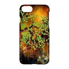 Backdrop Background Tree Abstract Apple iPhone 7 Hardshell Case