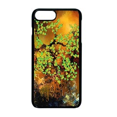 Backdrop Background Tree Abstract Apple iPhone 7 Plus Seamless Case (Black)