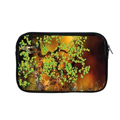 Backdrop Background Tree Abstract Apple MacBook Pro 13  Zipper Case