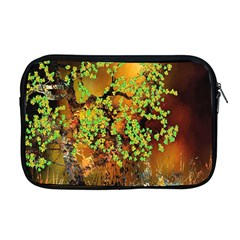 Backdrop Background Tree Abstract Apple MacBook Pro 17  Zipper Case