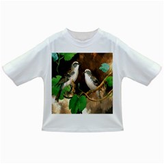 Backdrop Colorful Bird Decoration Infant/toddler T Shirts