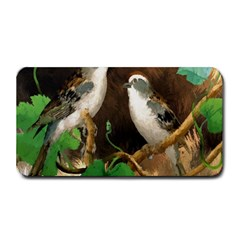 Backdrop Colorful Bird Decoration Medium Bar Mats