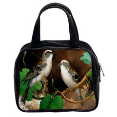 Backdrop Colorful Bird Decoration Classic Handbags (2 Sides)