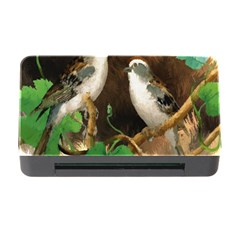 Backdrop Colorful Bird Decoration Memory Card Reader With Cf
