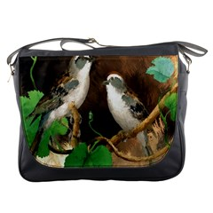 Backdrop Colorful Bird Decoration Messenger Bags