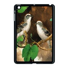 Backdrop Colorful Bird Decoration Apple Ipad Mini Case (black)