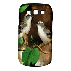 Backdrop Colorful Bird Decoration Samsung Galaxy S Iii Classic Hardshell Case (pc+silicone)