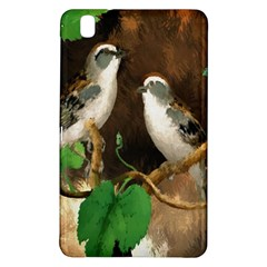 Backdrop Colorful Bird Decoration Samsung Galaxy Tab Pro 8 4 Hardshell Case by Nexatart