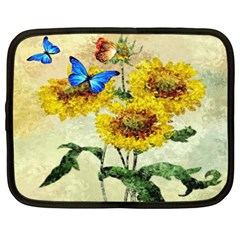 Backdrop Colorful Butterfly Netbook Case (xxl)