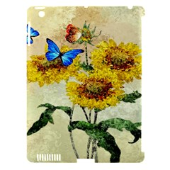 Backdrop Colorful Butterfly Apple Ipad 3/4 Hardshell Case (compatible With Smart Cover)