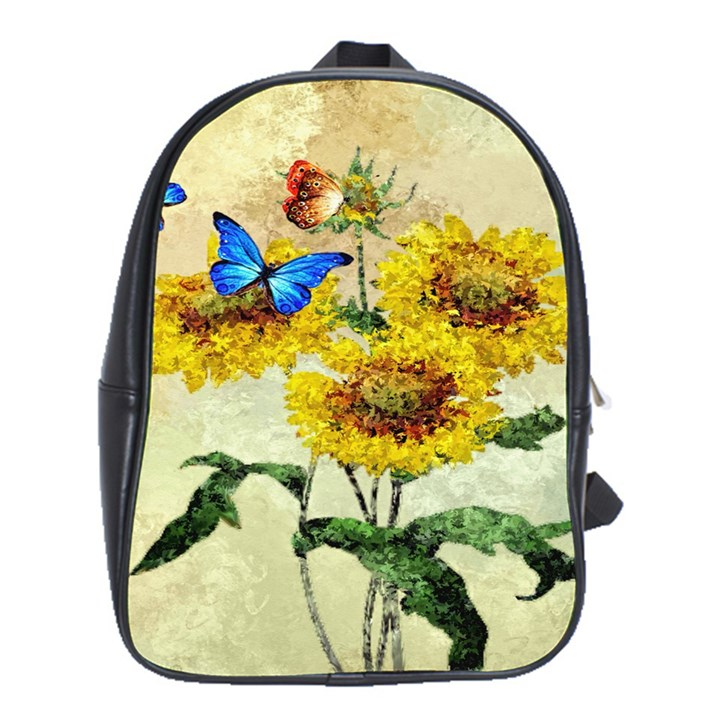 Backdrop Colorful Butterfly School Bags (XL)