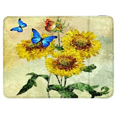Backdrop Colorful Butterfly Samsung Galaxy Tab 7  P1000 Flip Case