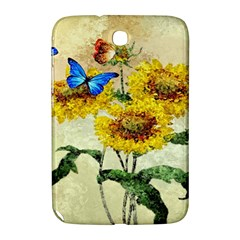 Backdrop Colorful Butterfly Samsung Galaxy Note 8 0 N5100 Hardshell Case