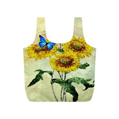 Backdrop Colorful Butterfly Full Print Recycle Bags (s)