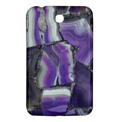 Purple Agate Natural Samsung Galaxy Tab 3 (7 ) P3200 Hardshell Case  by Alisyart
