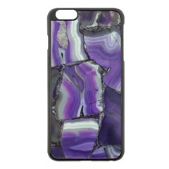 Purple Agate Natural Apple Iphone 6 Plus/6s Plus Black Enamel Case by Alisyart