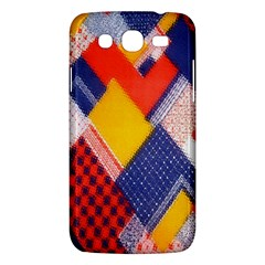 Background Fabric Multicolored Patterns Samsung Galaxy Mega 5 8 I9152 Hardshell Case