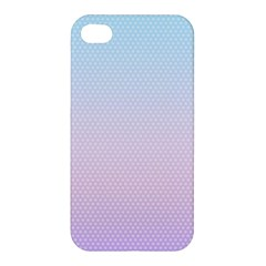 Simple Circle Dot Purple Blue Apple Iphone 4/4s Hardshell Case by Alisyart