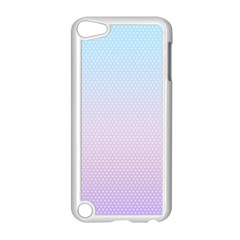 Simple Circle Dot Purple Blue Apple Ipod Touch 5 Case (white) by Alisyart