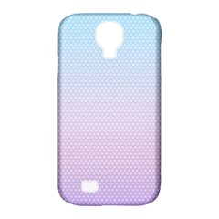 Simple Circle Dot Purple Blue Samsung Galaxy S4 Classic Hardshell Case (pc+silicone) by Alisyart
